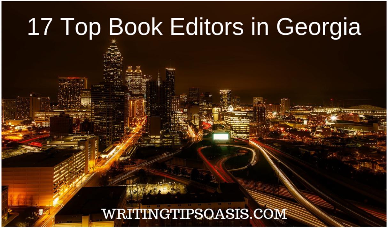book editors in georgia