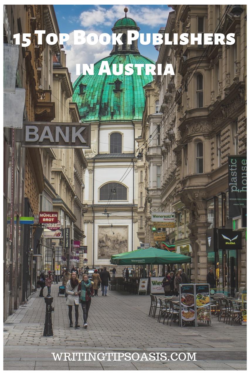 book publishers in austria
