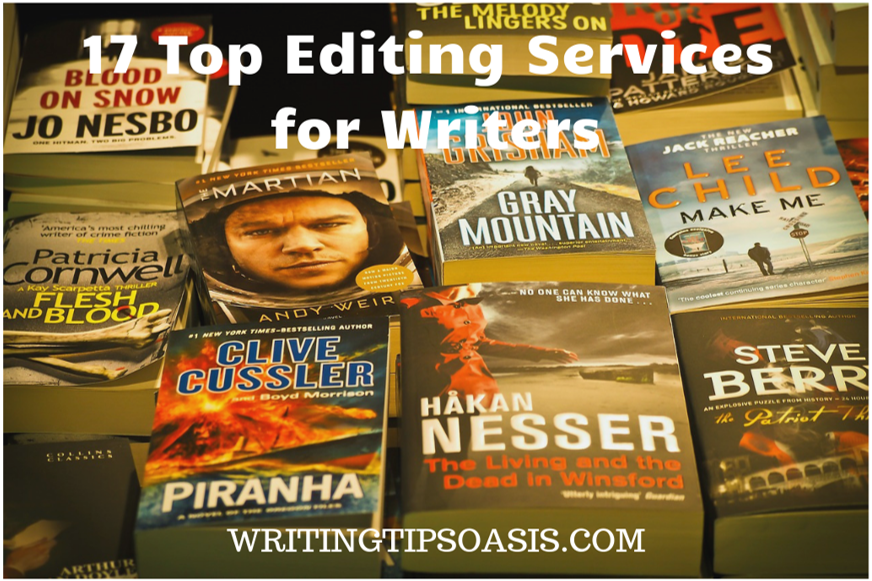 editing services for writers