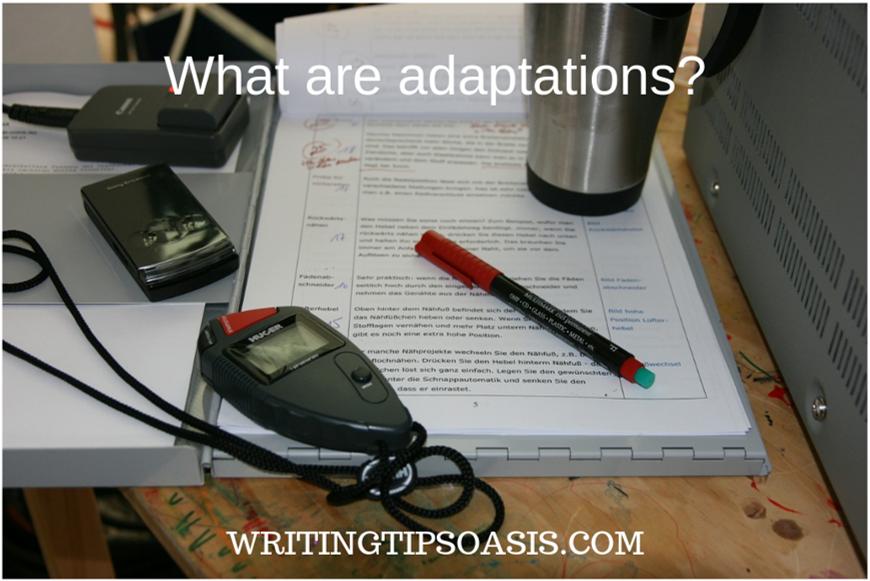 adapting a novel into a screenplay