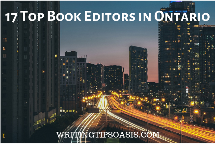 book editors in ontario