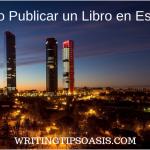 cómo publicar un libro en españa