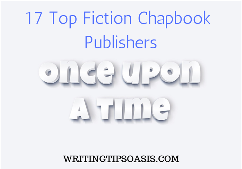 fiction chapbook publishers