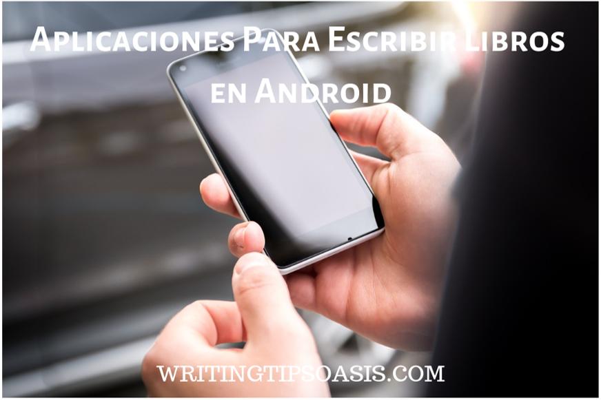 aplicaciones para escribir libros en android