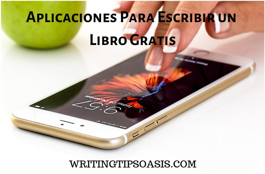 plicaciones para escribir un libro gratis