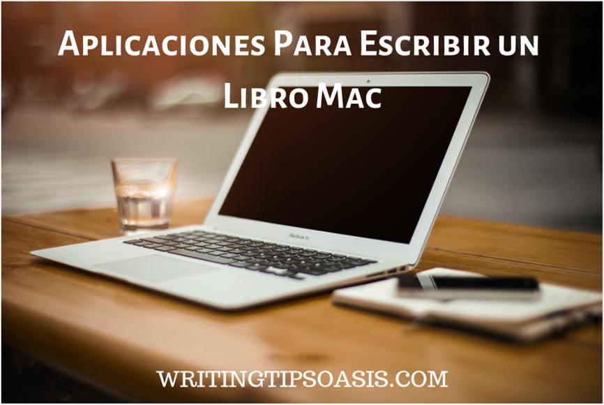 aplicaciones para escribir un libro mac
