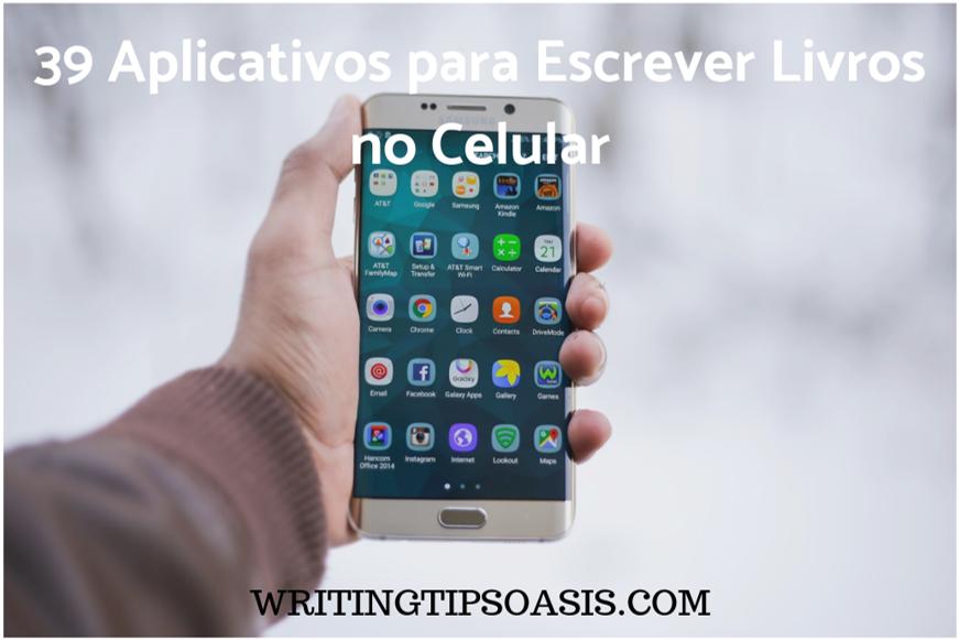 aplicativos para escrever livros no celular