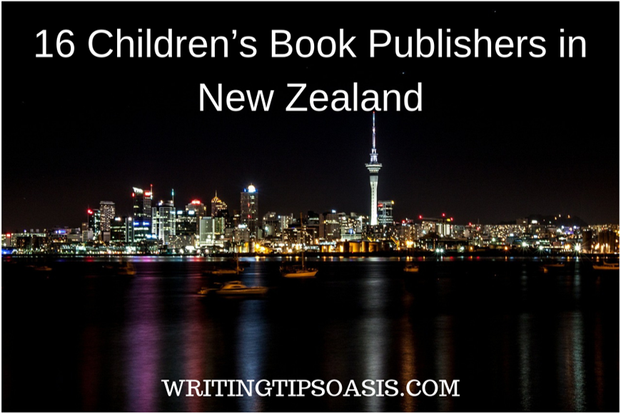 children's book publishers in new zealand