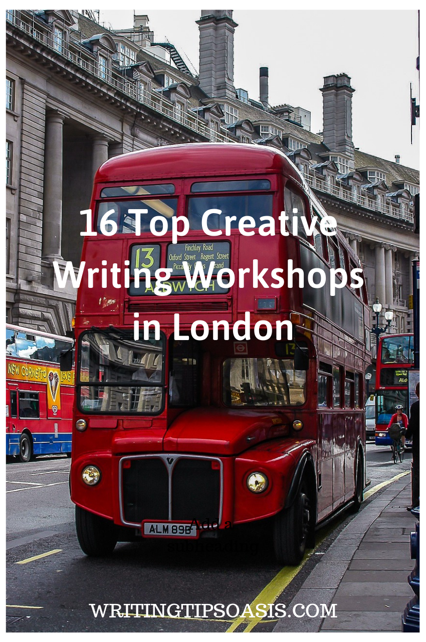 creative writing classes in london
