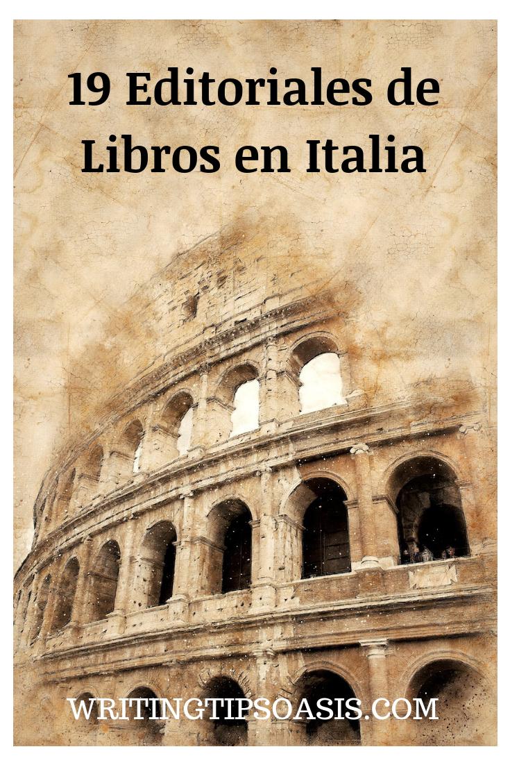 editorial de libros en Italia