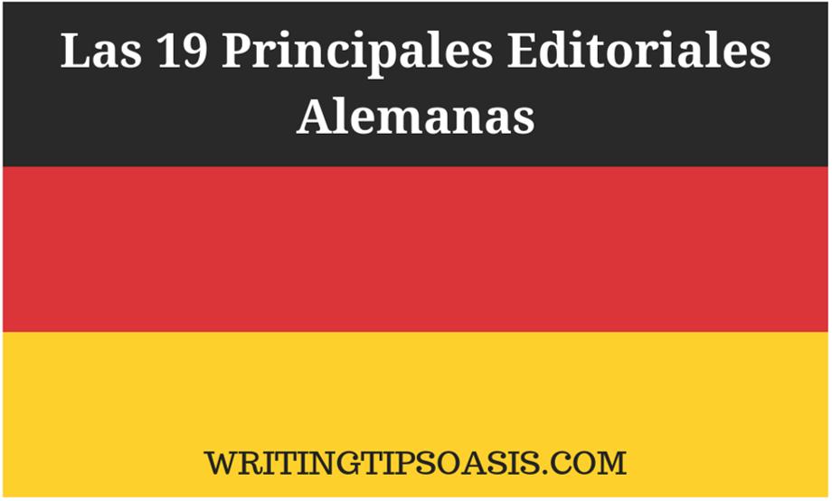 editoriales alemanas