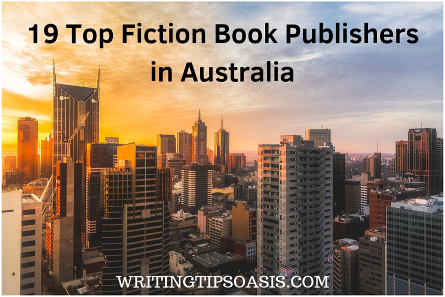 fiction book publishers in australia