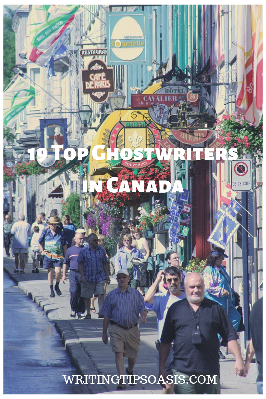 ghost writers in canada