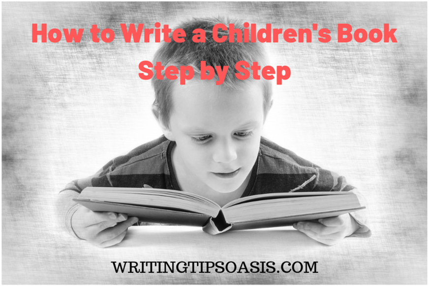 how to write a children's book manuscript