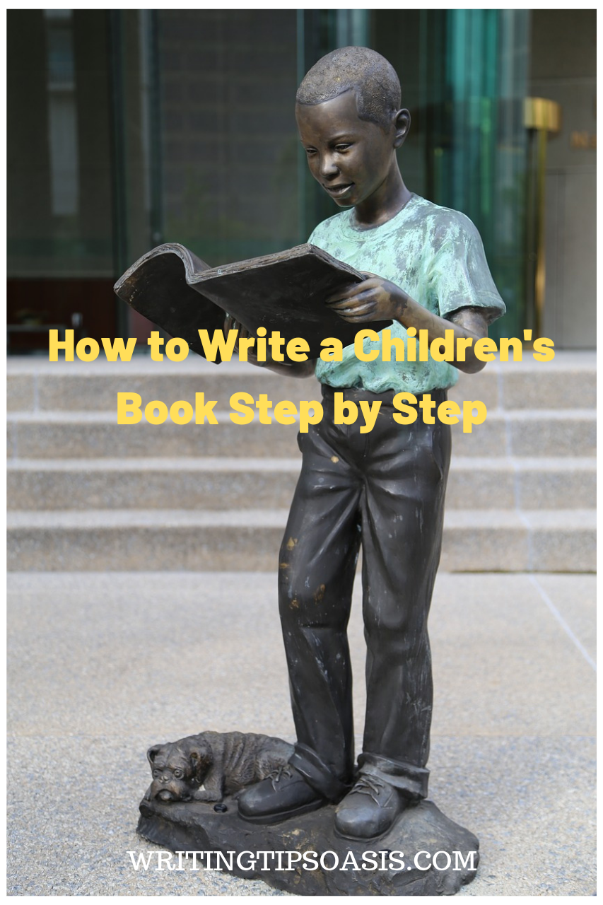 how to write a children's book
