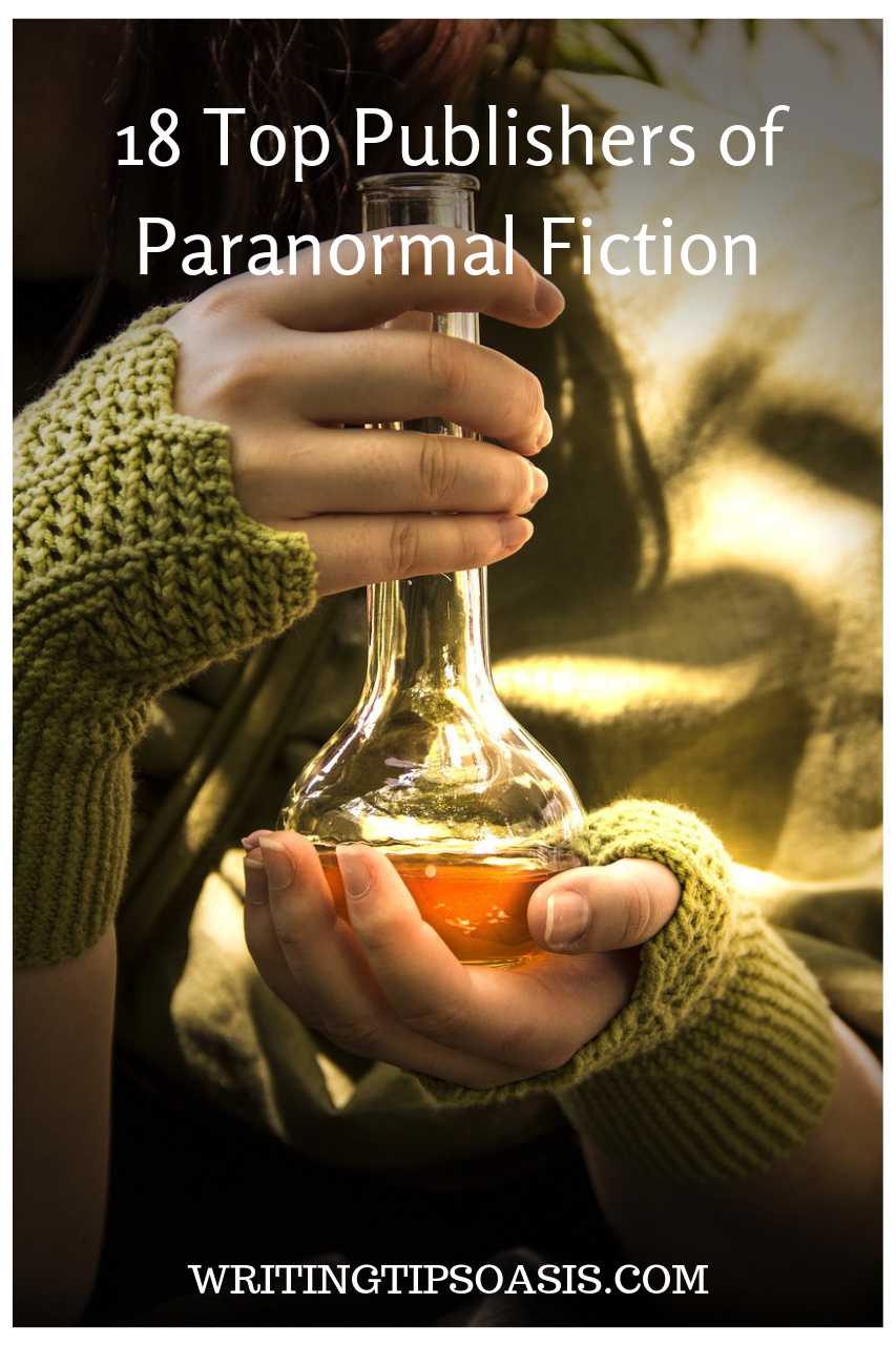 paranormal fiction publishers