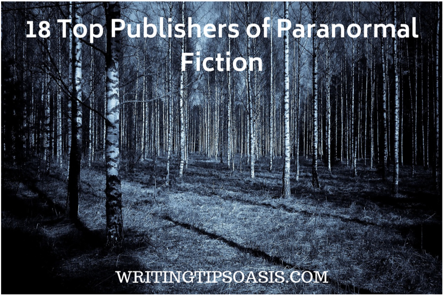 publishers of paranormal fiction