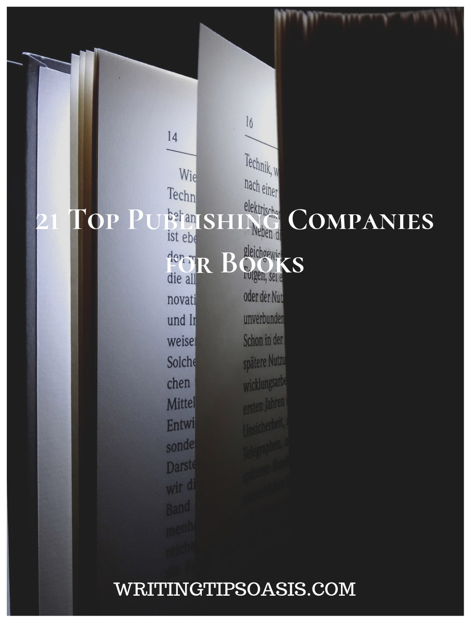 best publishing companies for books