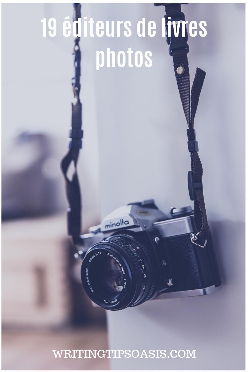 editeurs de livres photos