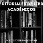 editoriales de libros académicos