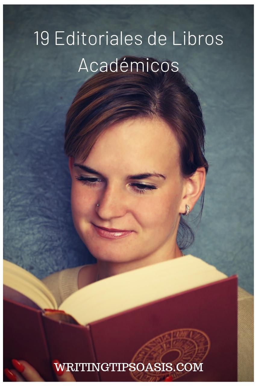 editoriales de libros academicos