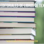 editoriales de libros de texto