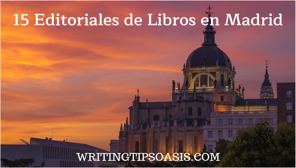 editoriales de libros en madrid