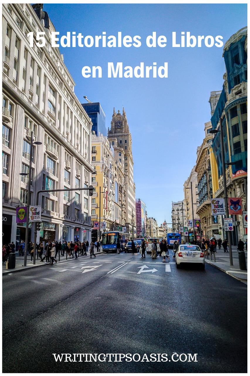 editoriales libros madrid