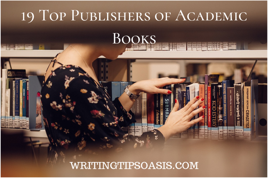 publishers of academic books