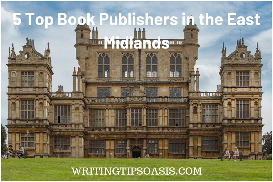 book publishers in the east midlands