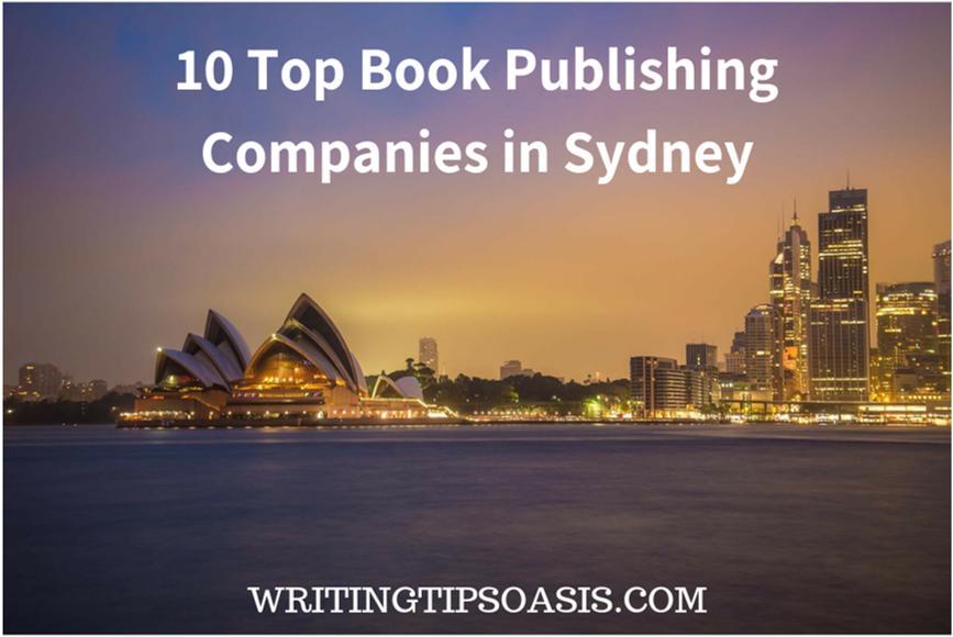 book publishing companies in sydney