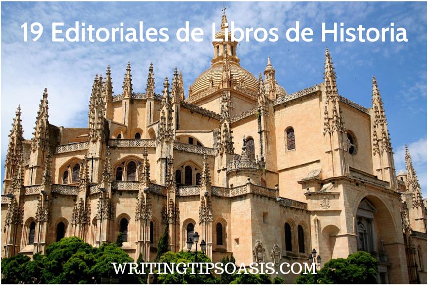 editoriales de libros de historia