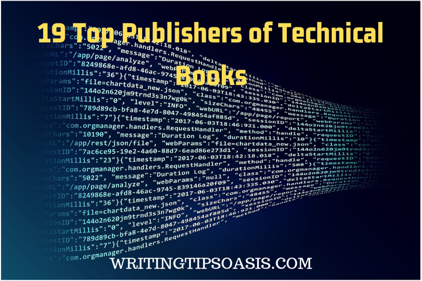publishers of technical books