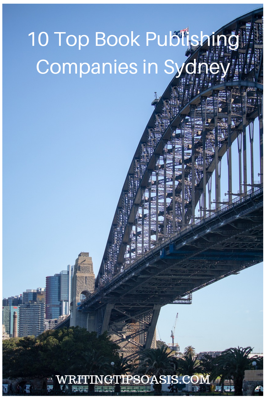 top book publishers in sydney