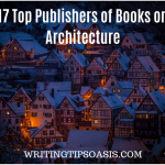 publishers of books on architecture