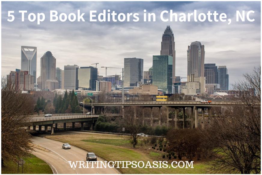 book editors in charlotte, nc