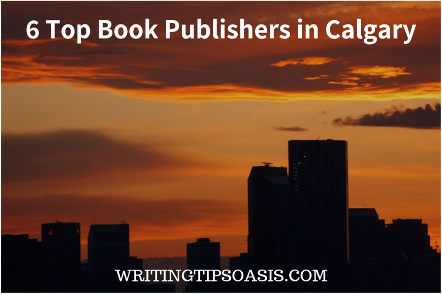 book publishers in calgary