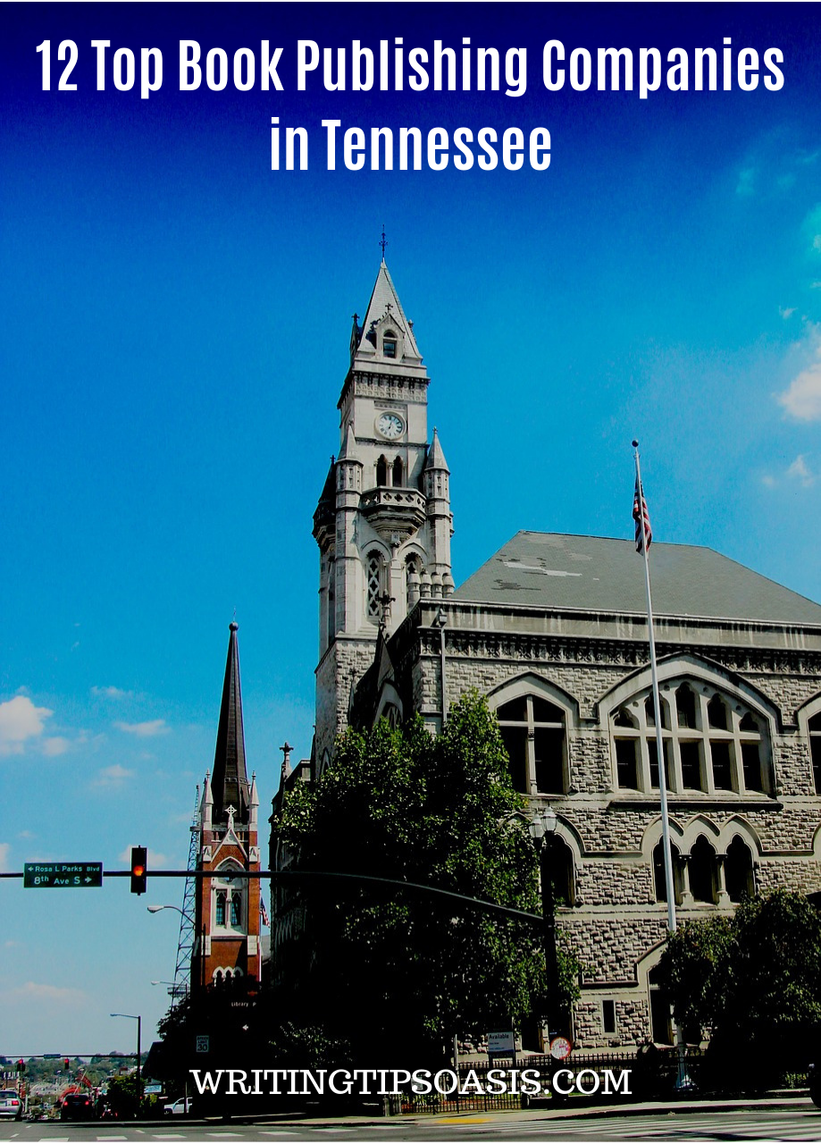 book publishers in tennessee