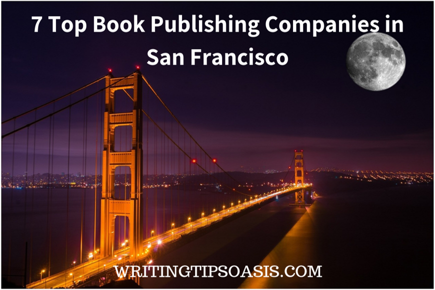 book publishing companies in san francisco