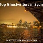 ghostwriters in sydney