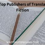 publishers of translated fiction