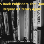 book publishers that dont require a literary agent