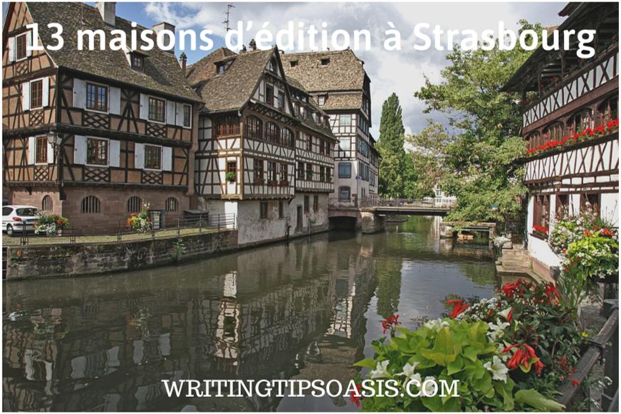 maisons d'édition à strasbourg