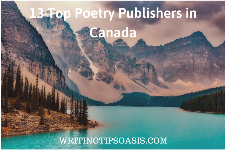 poetry publishers in canada