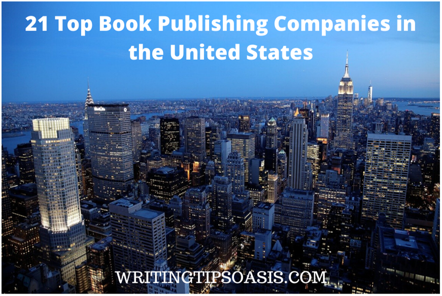 book publishing companies in the united states