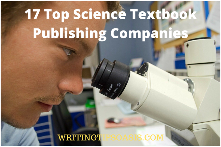 science textbook publishing companies