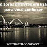 editoras de livros em Brasília