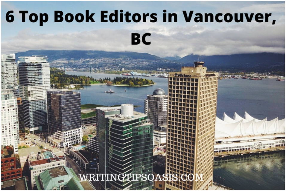 book editors in vancouver, bc