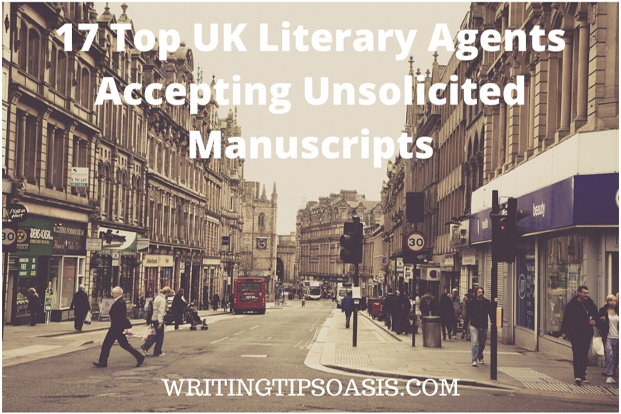 uk literary agents accepting unsolicited manuscripts