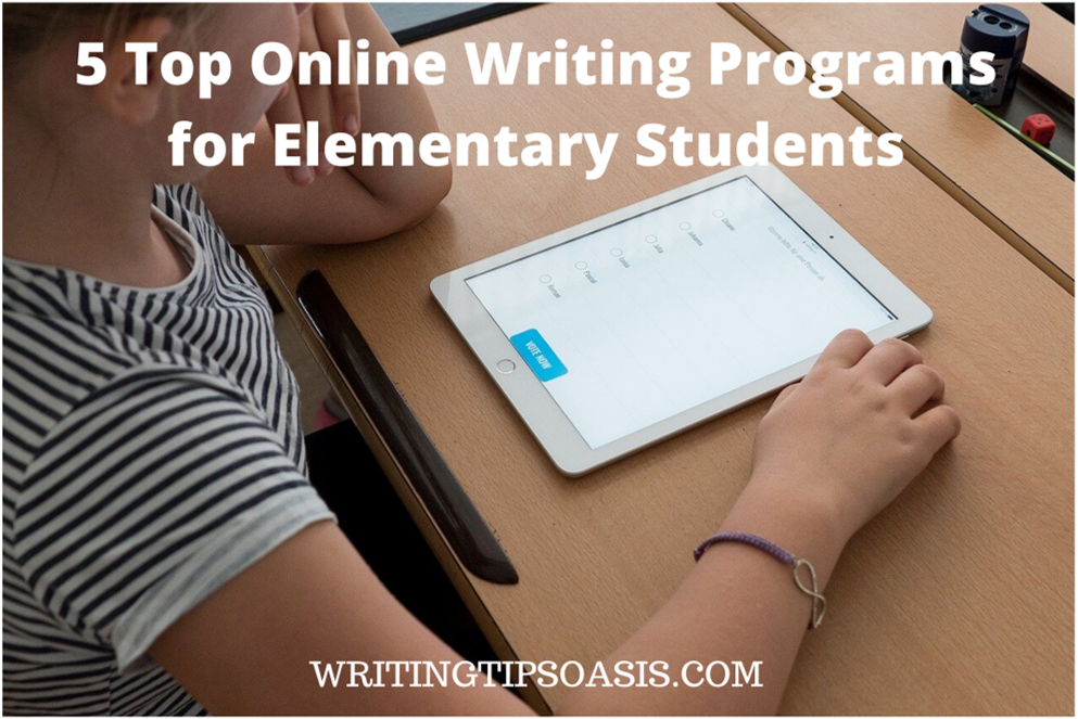 Online Writing Programs for Elementary Students